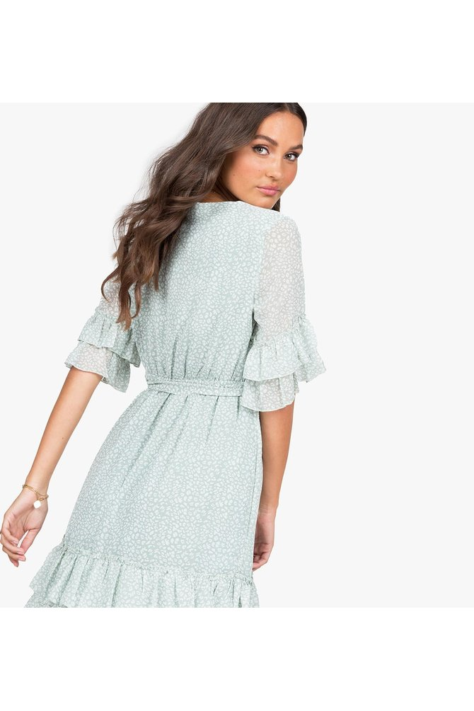 Mint groene jurk