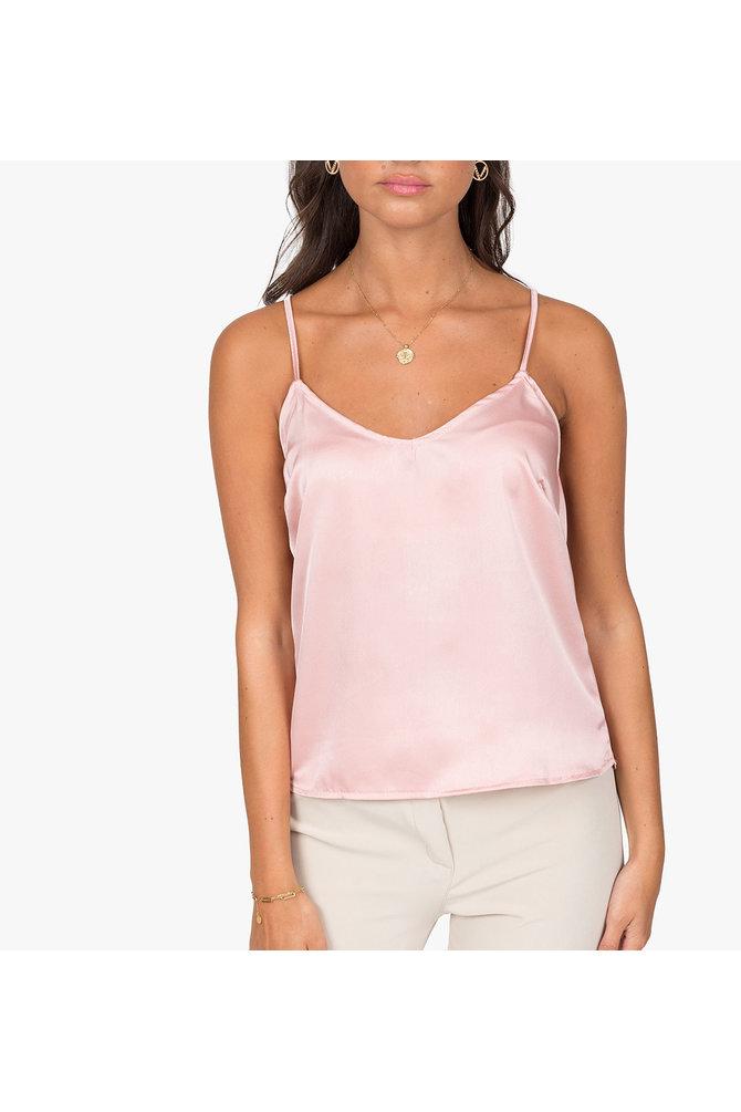Licht roze top