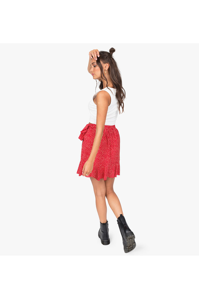 Rode overslag rok