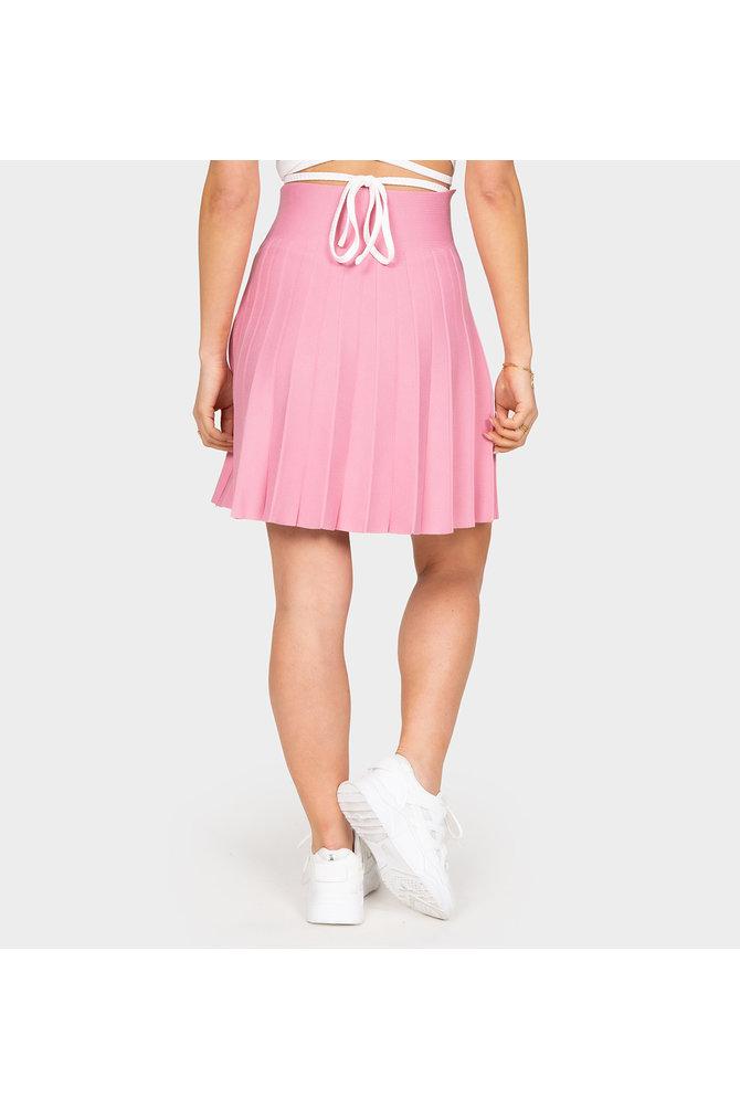 Roze a-lijn rok