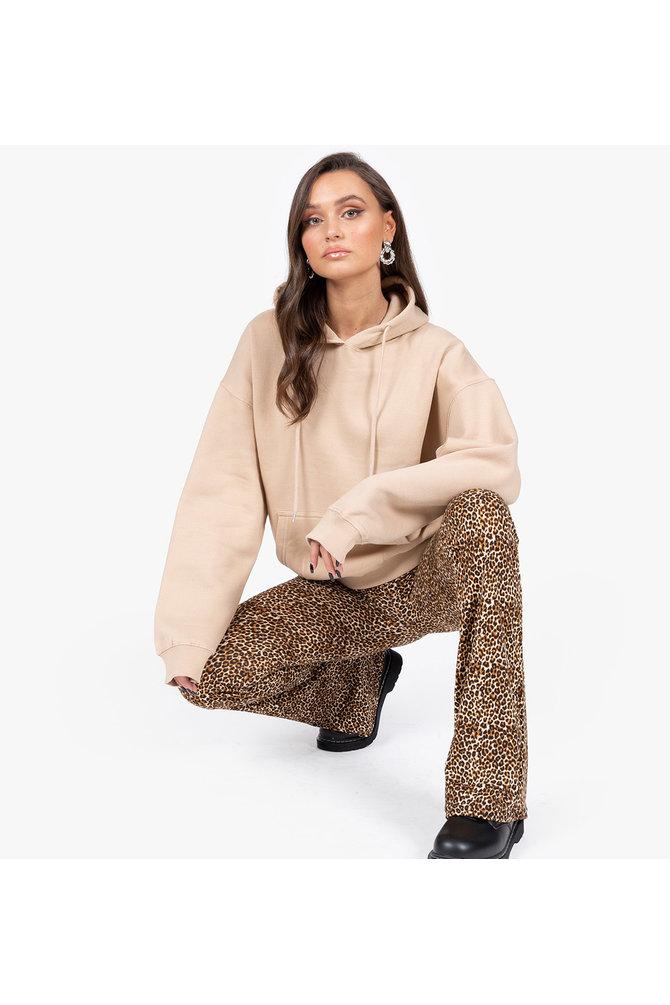 Bruine hoodie