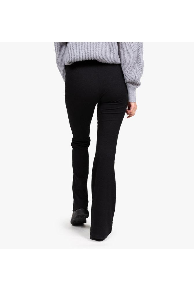 Zware flared broek