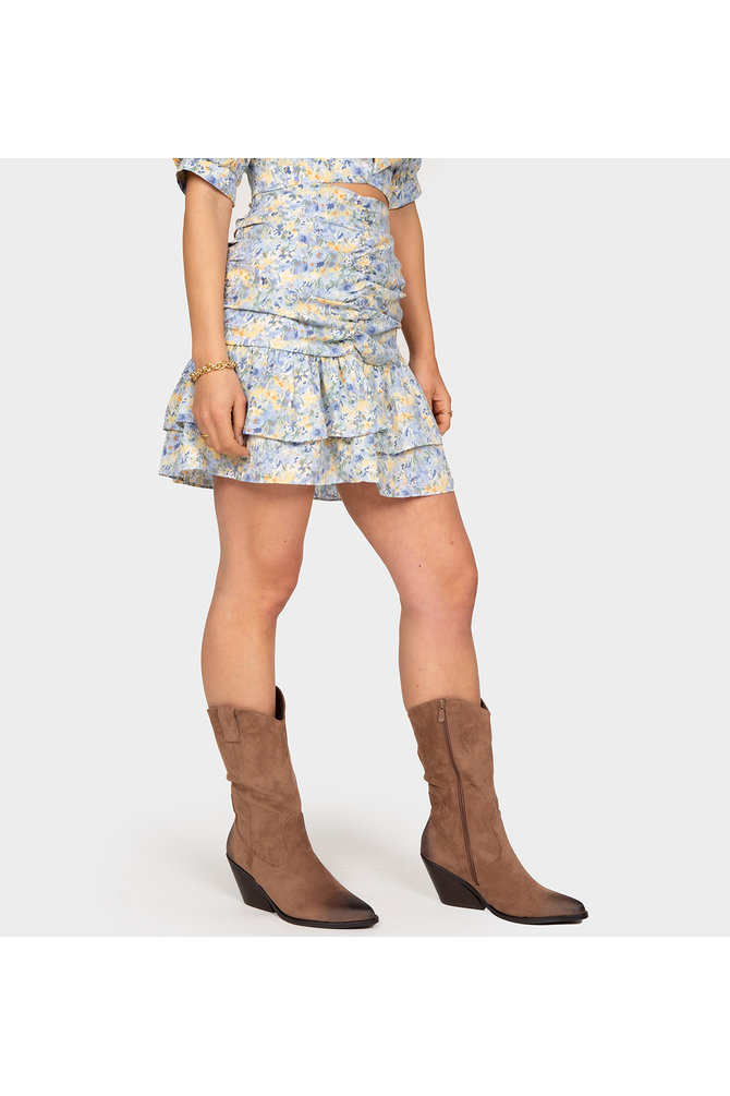 Call My Name Skirt - Blue
