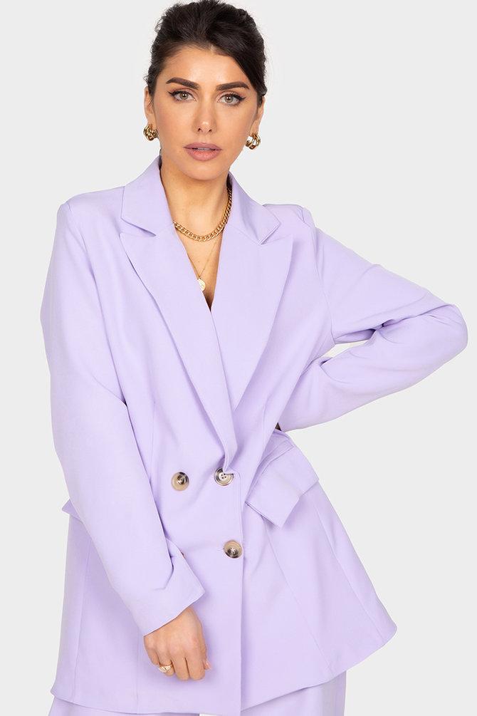 Boss Babe Blazer - Purple