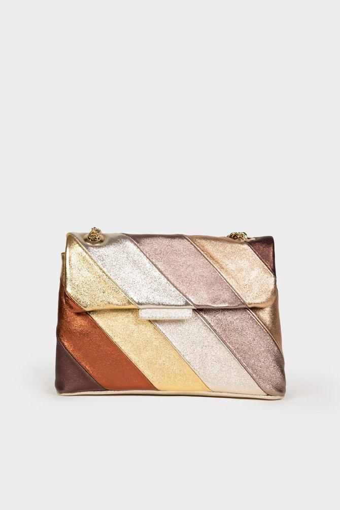 Colorful Bag - Brown