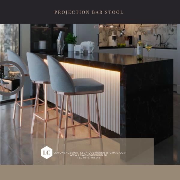 Projection Bar Stool