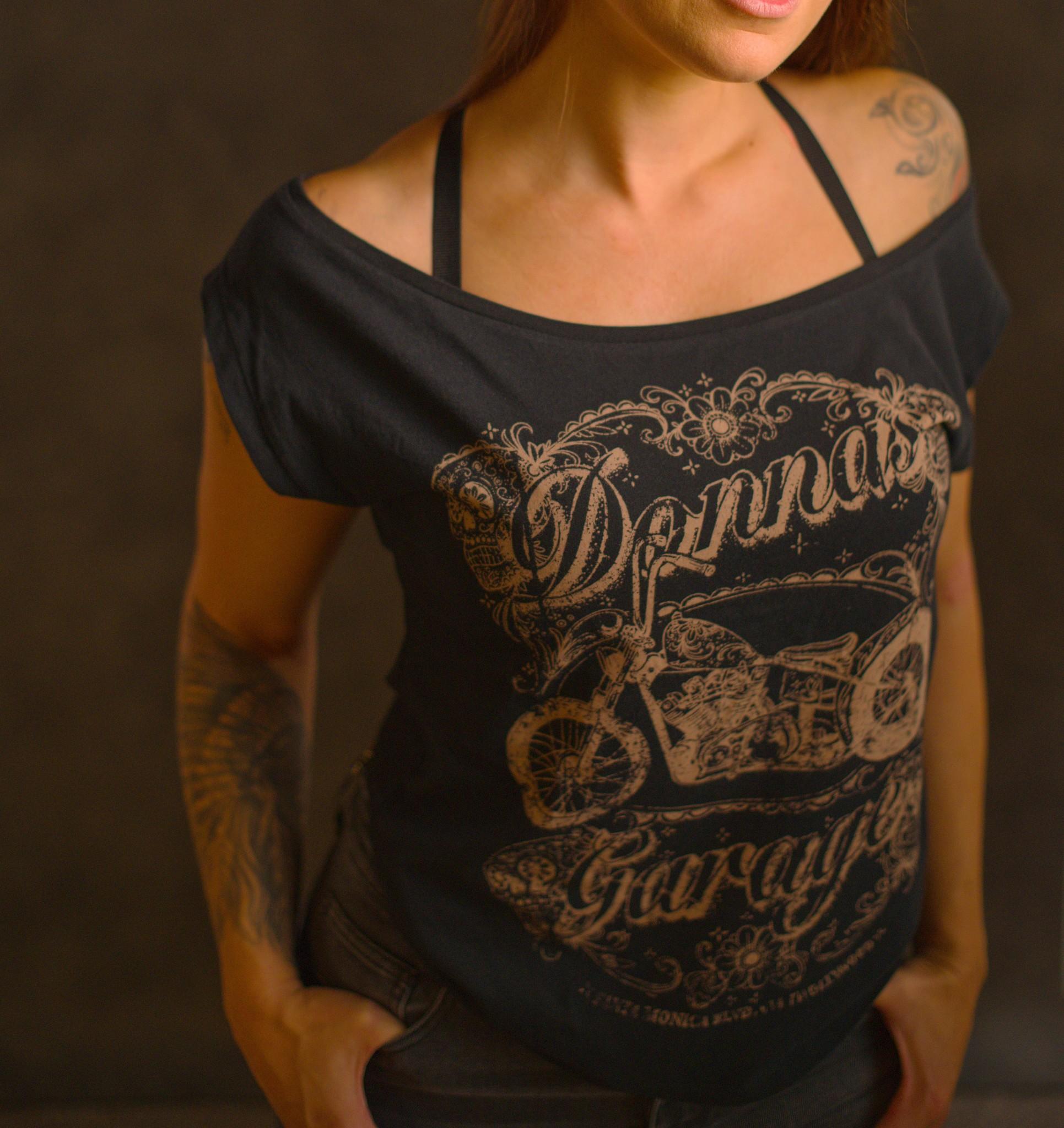 Rokker Donna's Garage Loose Black-1