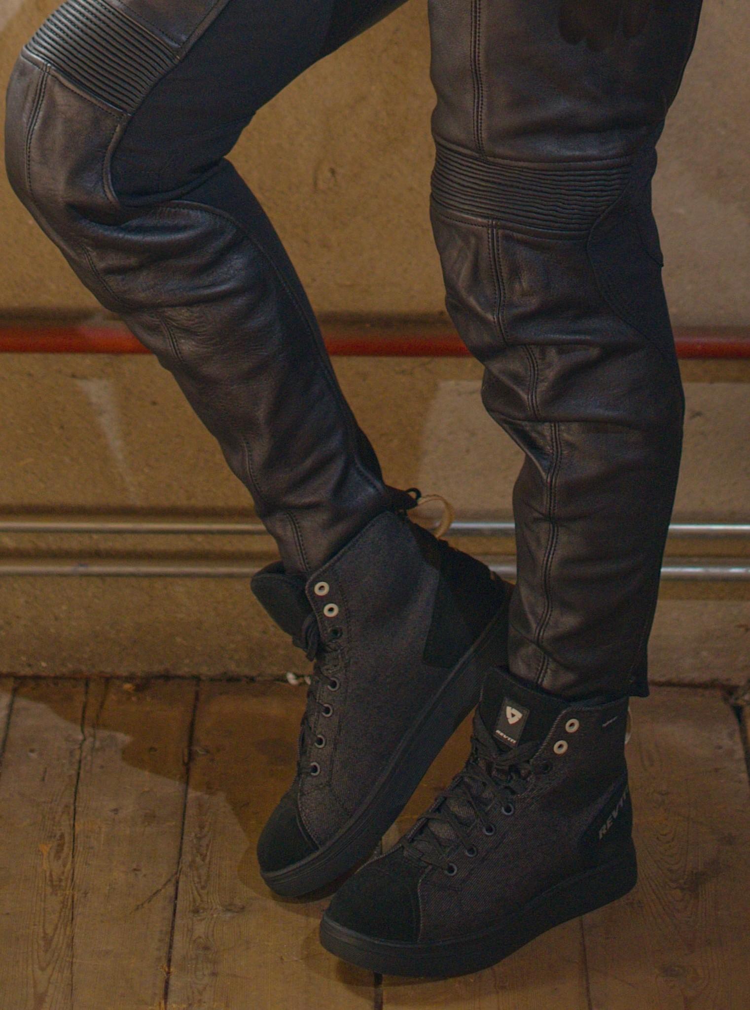 REV'IT! motor sneaker dames Delta H2O Zwart-2