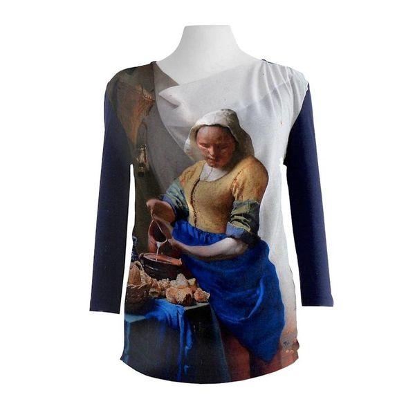 Shirt - Melkmeisje -L-XL-