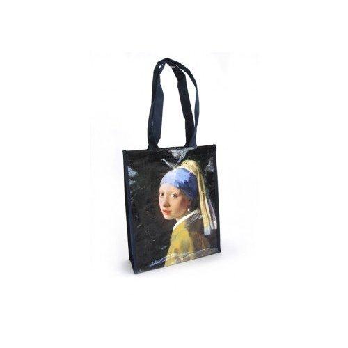 "Sac Shopper ""Jeune Fille à la perle"" de Vermeer"