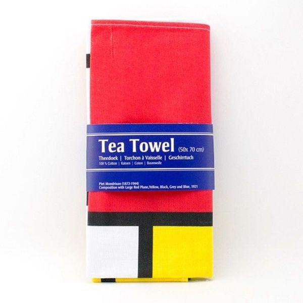 """Tea towel """"Mondriaan"""""""