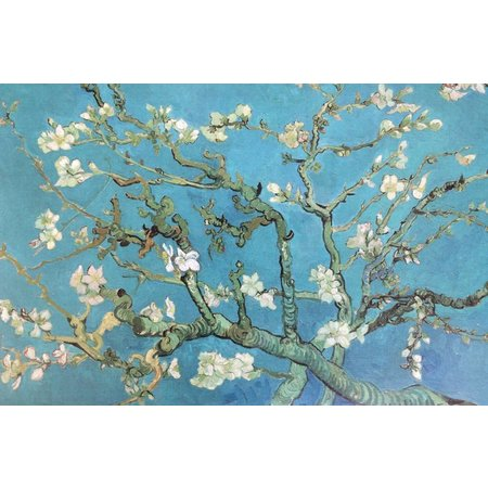 Set de table van Gogh print