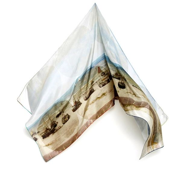 Mesdag silk scarf