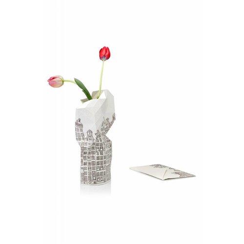 Paper vase cover The Hague