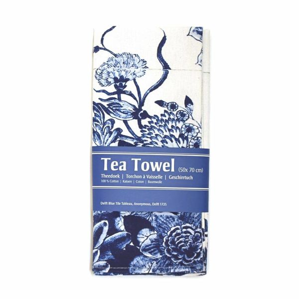 "Tea towel ""Delft bluel"""