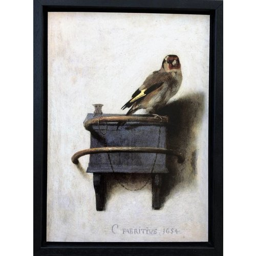 Goldfinch in frame
