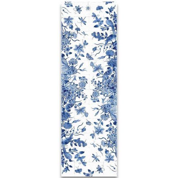Delfter Blau Schal