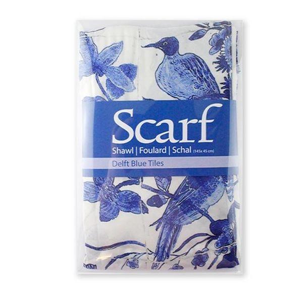 Delft Blue scarf