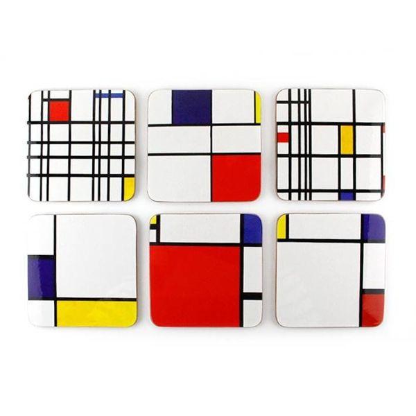 "Coasters ""Mondriaan"""