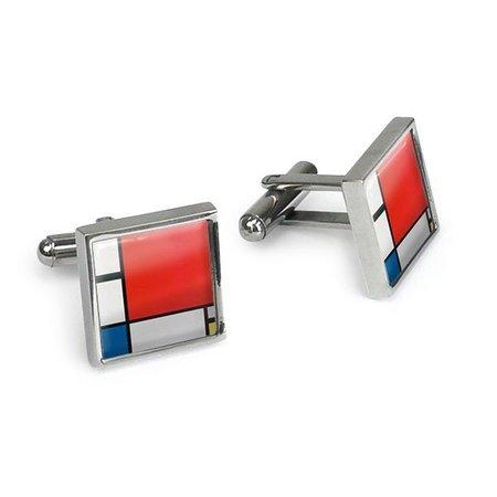 Boutons de manchette Mondrian