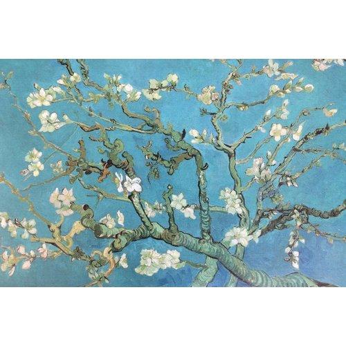 Mandelblüte van Gogh Replik im Backrahmen