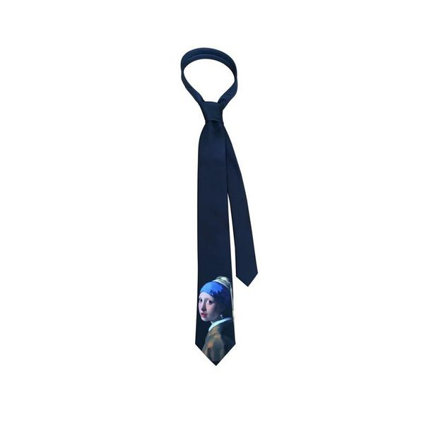 "Vermeer tie ""Girl with the pearl"""