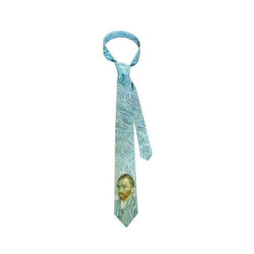 van Gogh self portrait tie