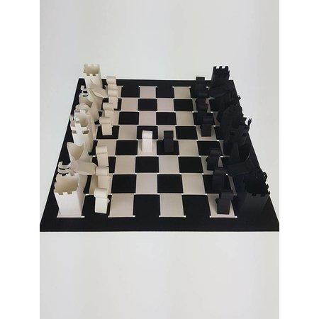 Vouwplaat schaakspel