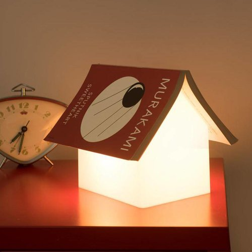 Bücherregal Lampe