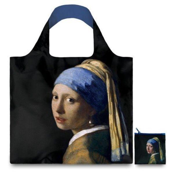Falttasche mit dem Mädchen mit der Perle