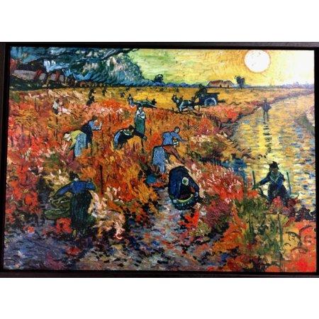 """""""Roter Weinberg"""" von van Gogh"""