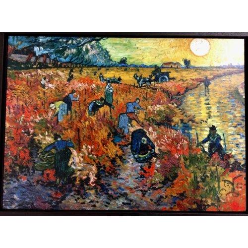 """""""Rode wijngaard"""" van van Gogh"""