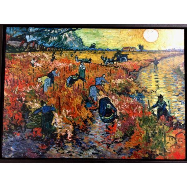 """""""Red vineyard"""" by van Gogh"""