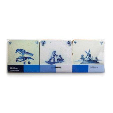 """Sous-verres """"Delft bleu"""""""