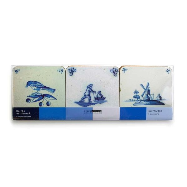 "Coasters ""Delft blue tiles"""
