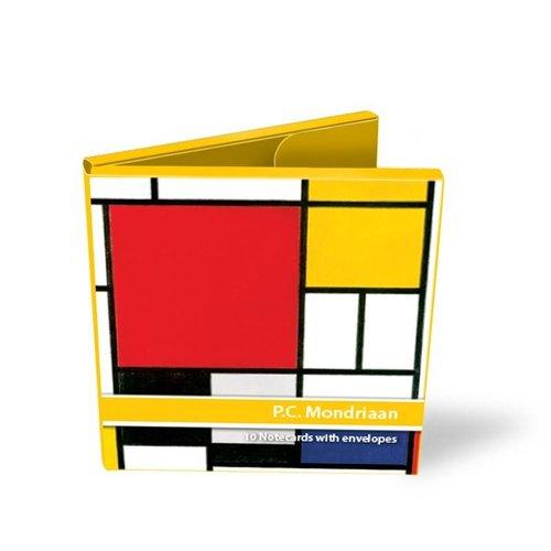 Dossier avec cartes Mondrian