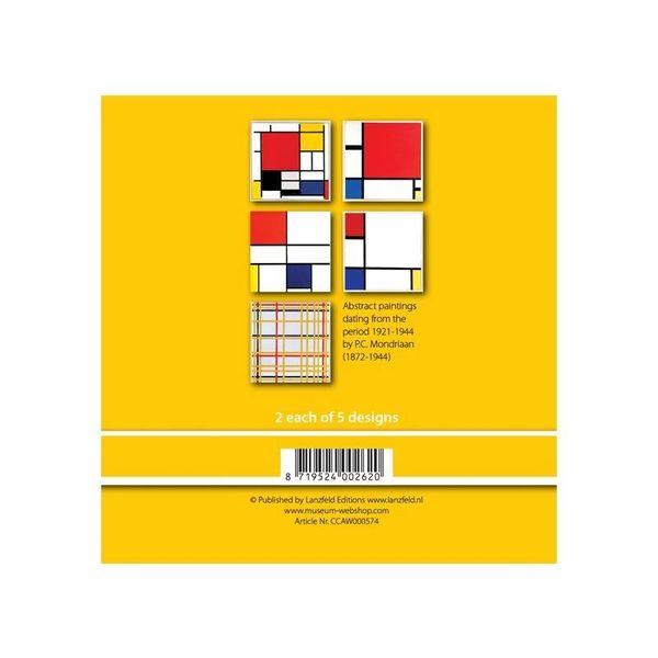 Cartes géographiques Mondrian