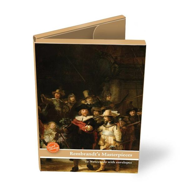 Folder with cards Rembrandt