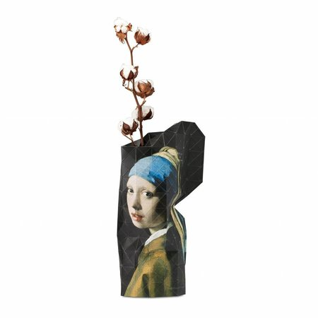 Paper vase Meisje met de parel