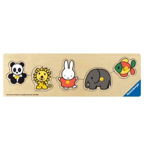 nijntje dierentuin puzzel