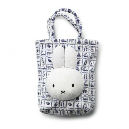 Delft blue miffy bag