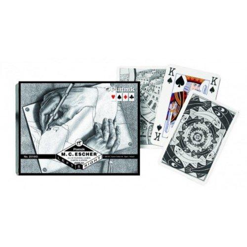 Cartes de jeu gauche et droite Escher - Double Deck