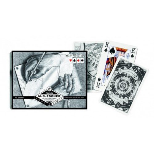 Escher Left & Right Playing Cards - Double Deck