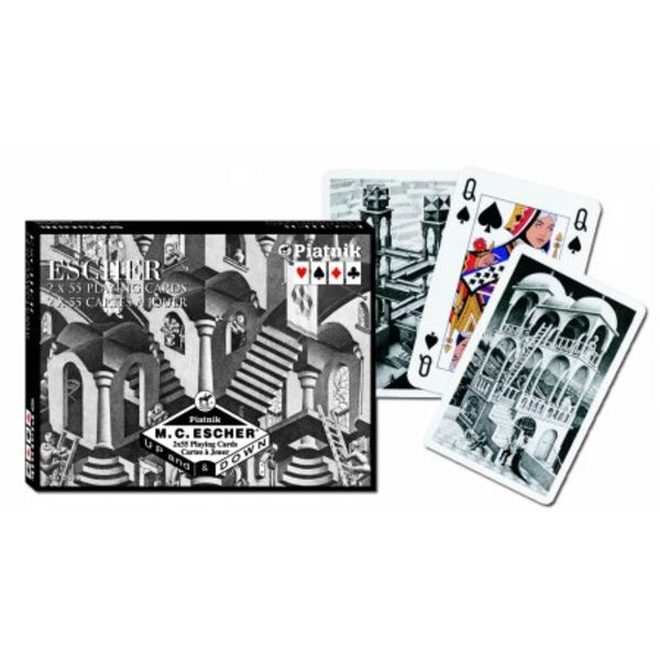 Escher Up & Down Playing Cards - Double Deck