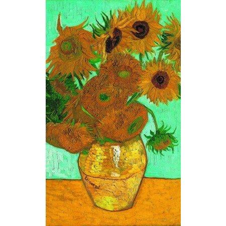 Puzzel  Zonnebloemen van Van Gogh