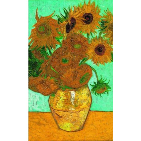 Puzzle Sunflowers de Van Gogh