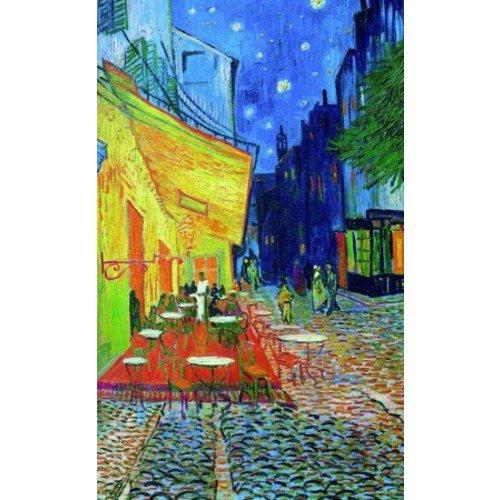 Puzzle Café Terrasse bei Nacht Vincent van Gogh