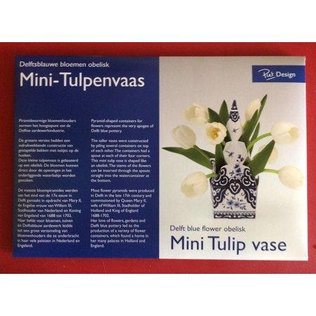 Mini vase en tulipe