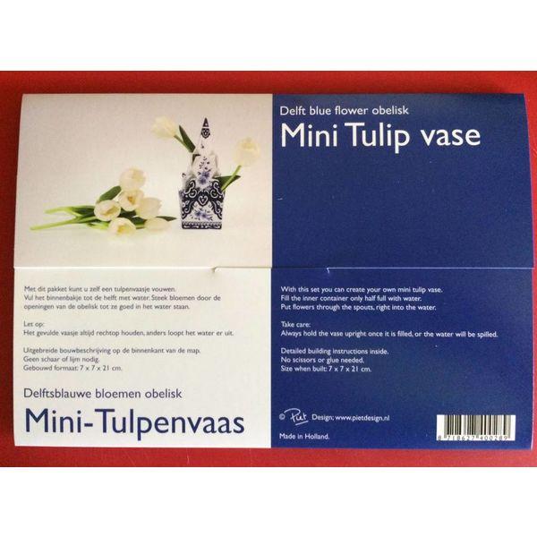 Minifalten-Tulpevase
