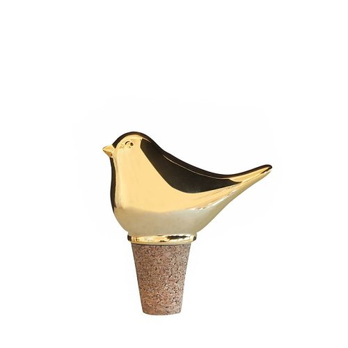 Goldfinch  wine stopper